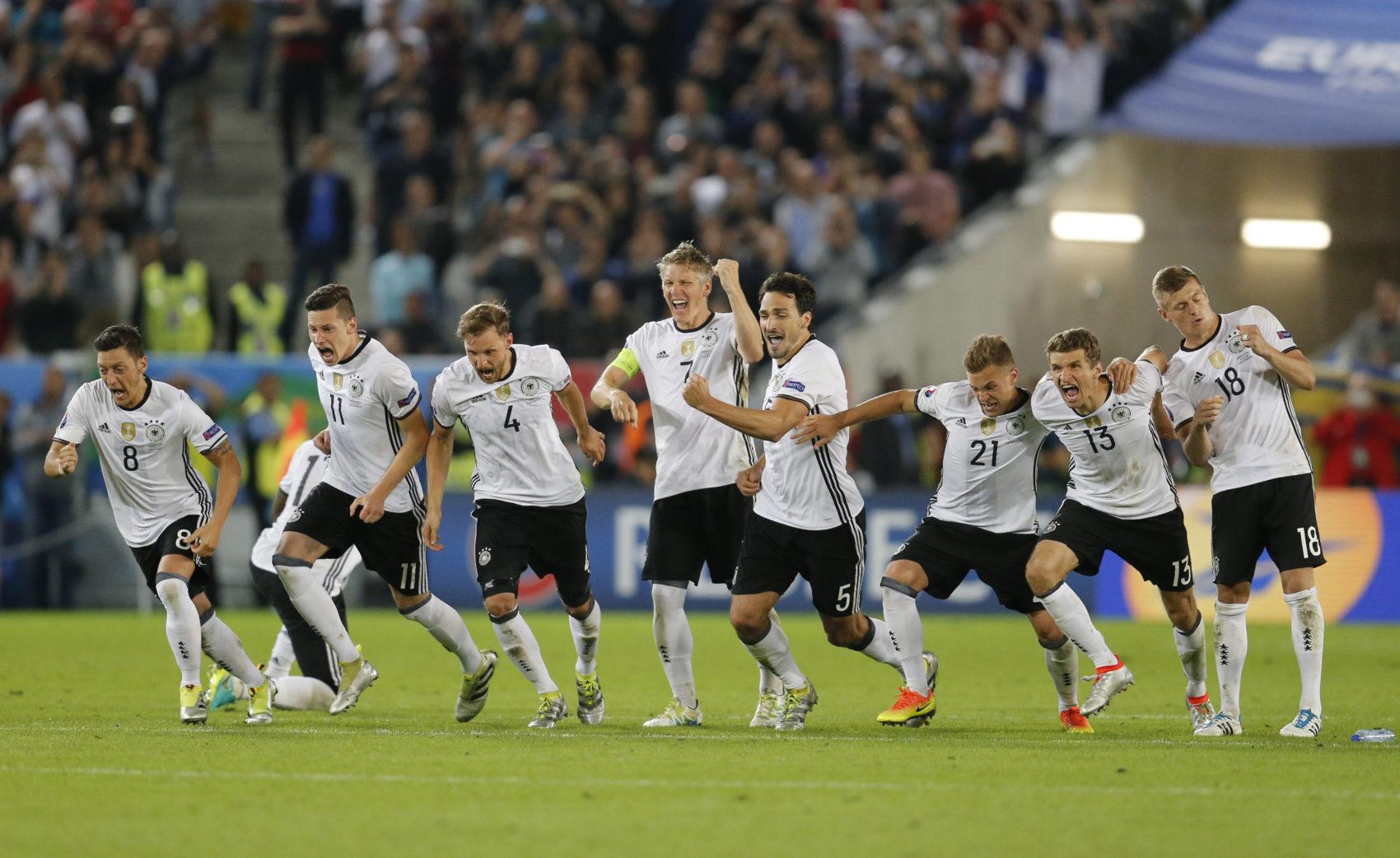 Nemecko – Francúzsko, semifinále EURO 2016