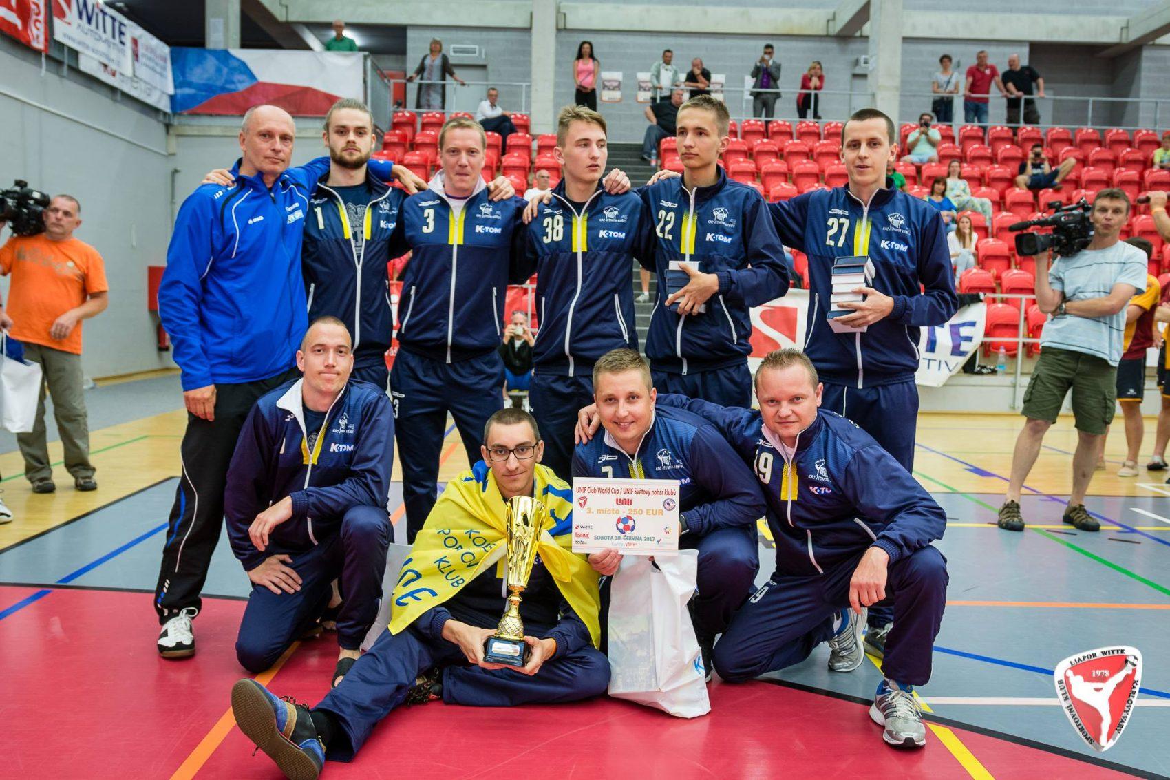 Úspech na Svetovom pohári v nohejbale