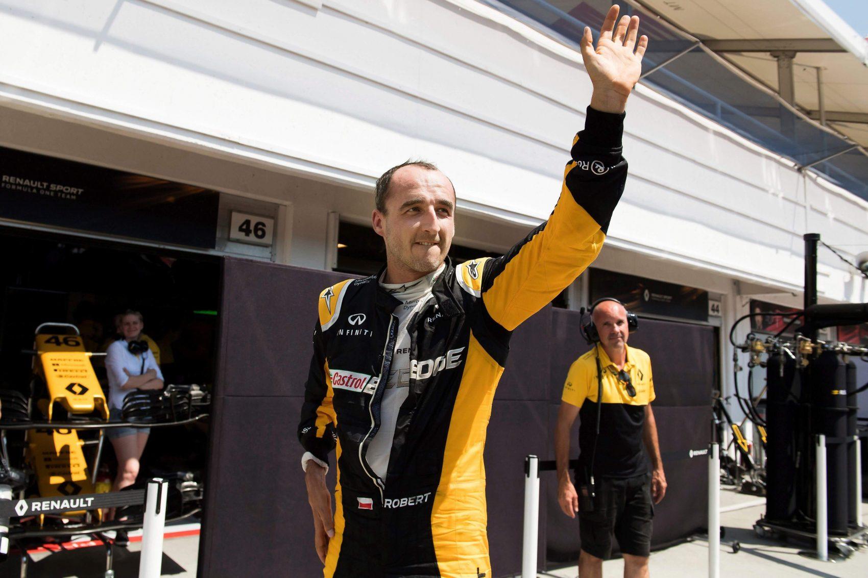 Návrat Roberta Kubicu do F1