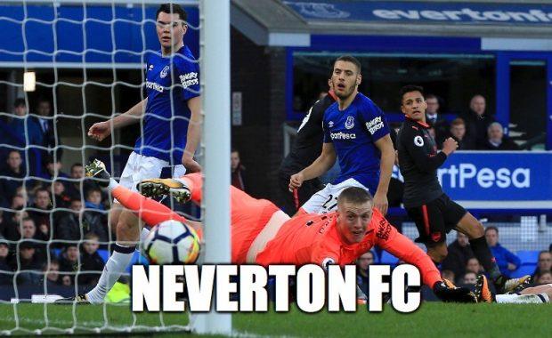 Ťažké časy v Evertone (meme)
