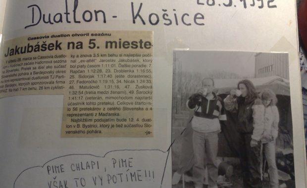 Duatlon, Košice 28.3.1992