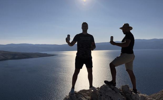 Ranných 185 výškových metrov na ostrove Krk