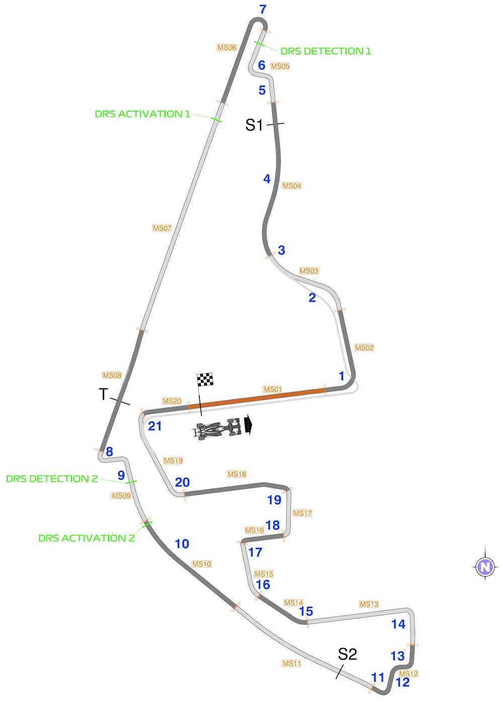 Mapa trate Abu Zabi
