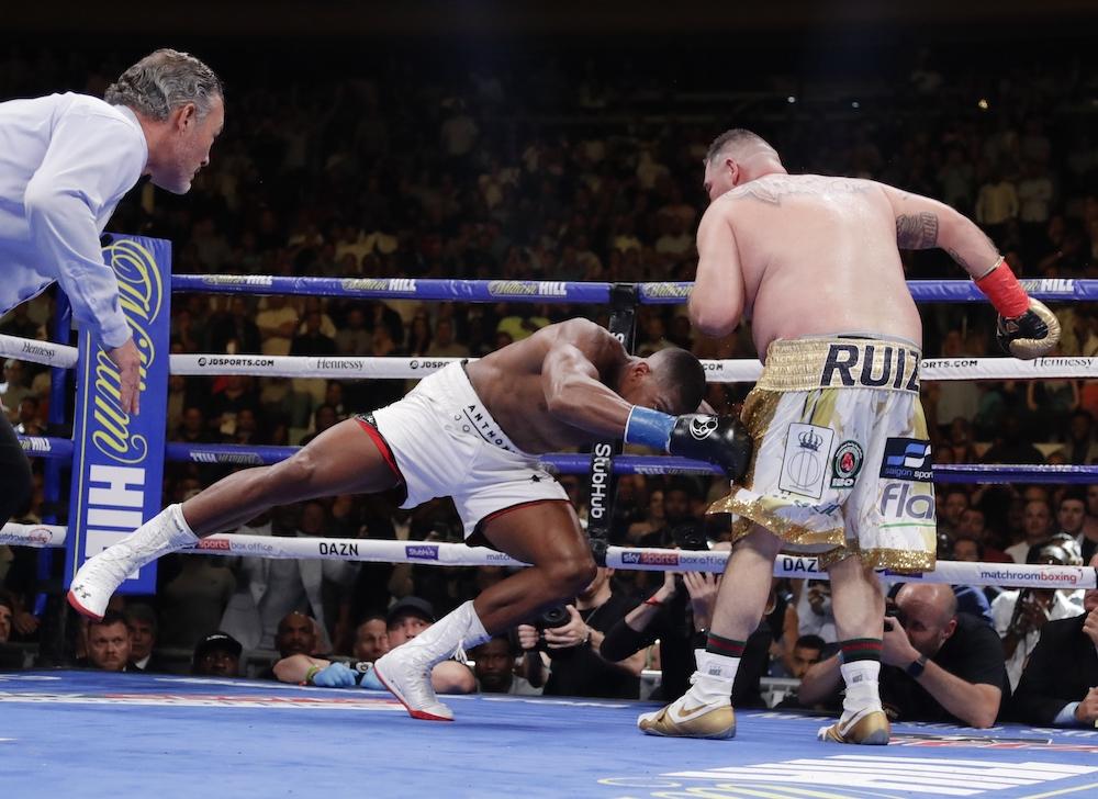 Ruiz Joshua Boxing