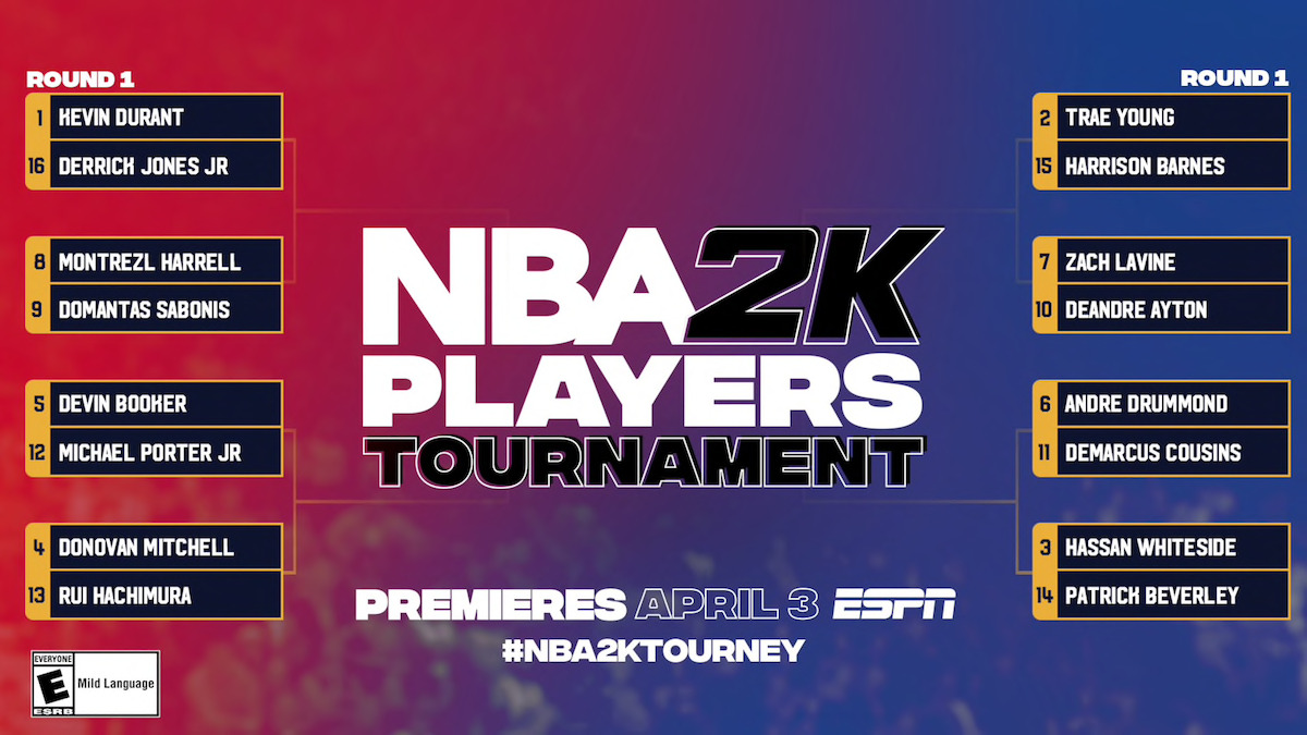 Turnaj NBA 2K Players Tournament