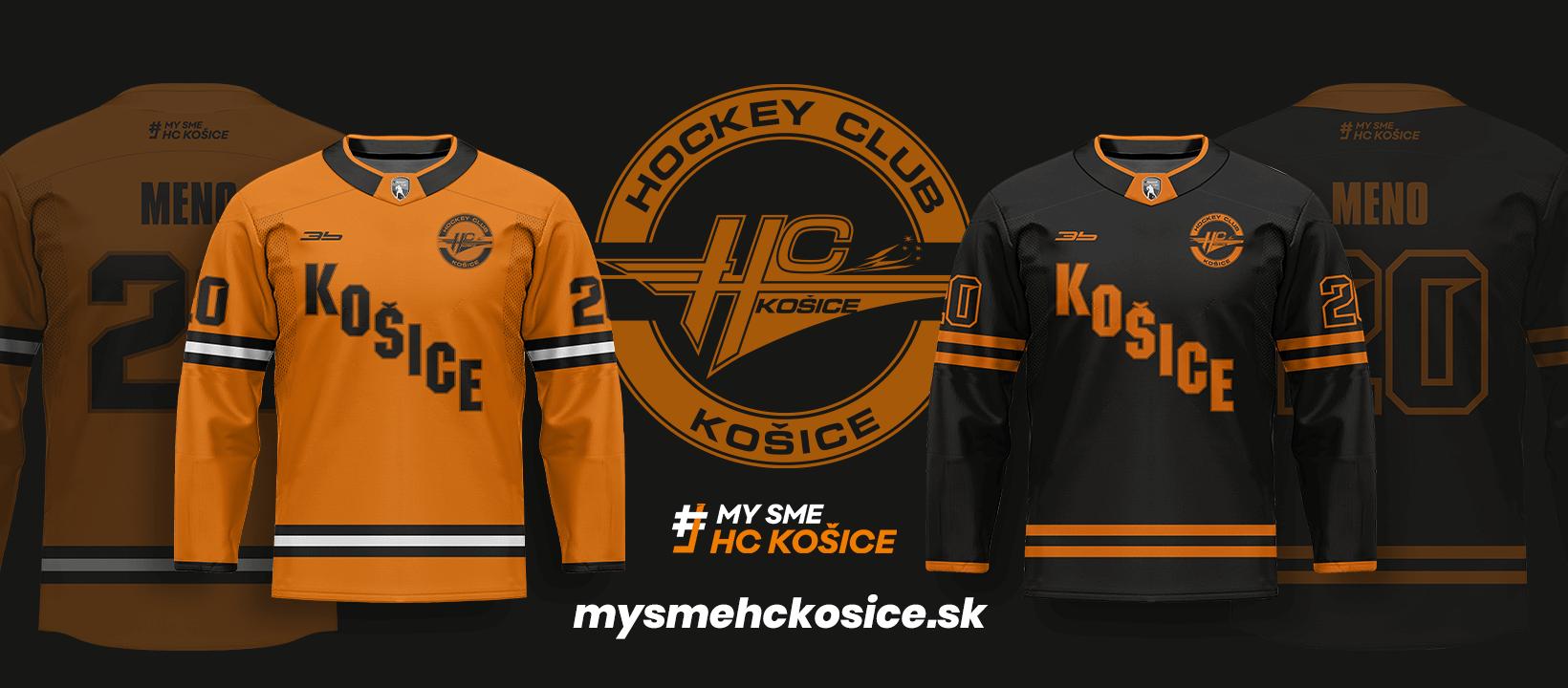 Nové dresy HC Košice