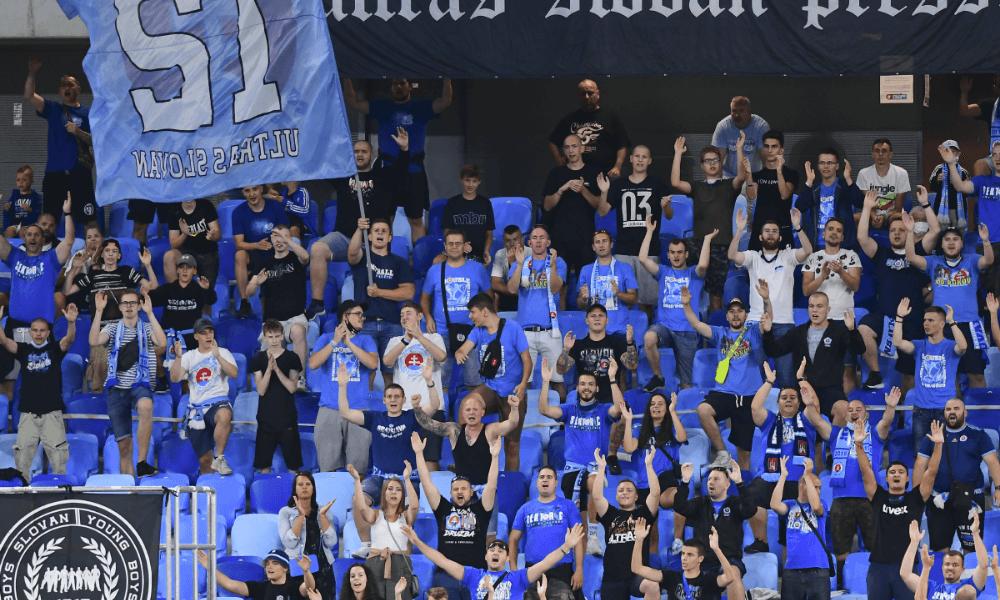Fanúšikovia Slovan Bratislava
