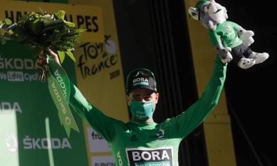 Sagan opäť v zelenom - Tour de France 2020
