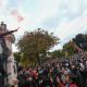 Protest športových hooligans v Bratislave