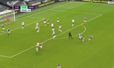 Manuel Lanzini - gól proti Tottenhamu