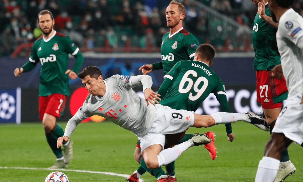 Lewandowski - Liga majstrov