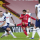 Salah v zápase Liverpool - Tottenham