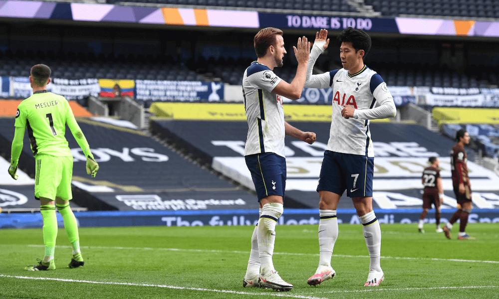 Tottenham, Kane a Son