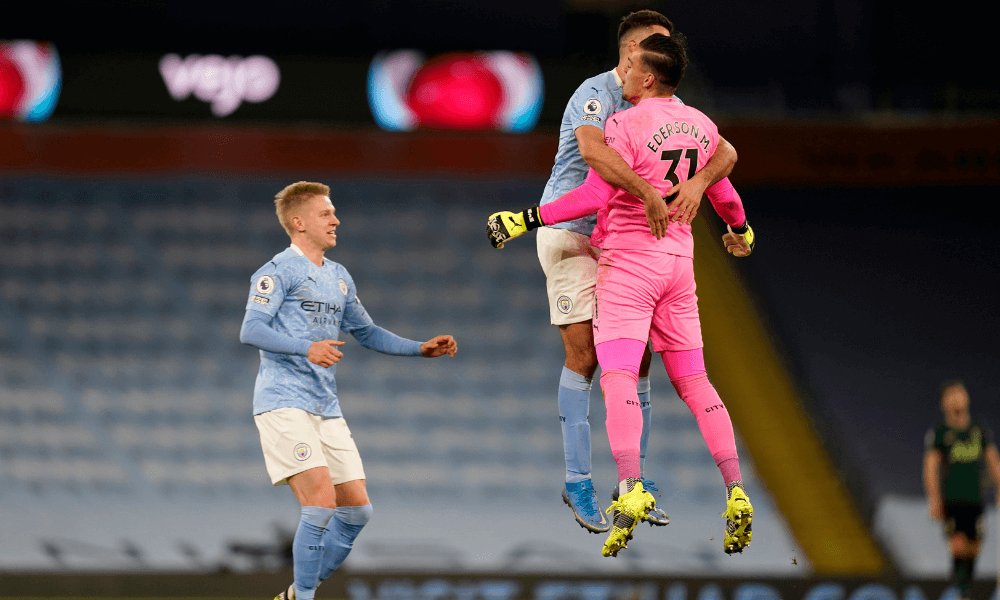 Manchester City gólová radosť