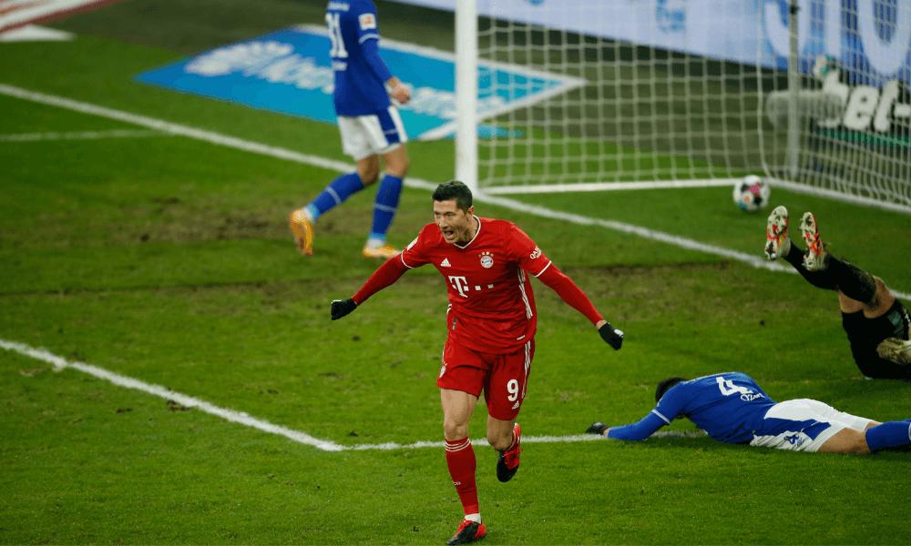 Lewandowski gólová radosť