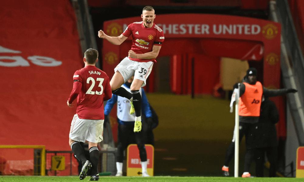 Manchester United gól McTominay v Premier League