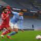 Salah v súboji v zápase Manchester City - Liverpool