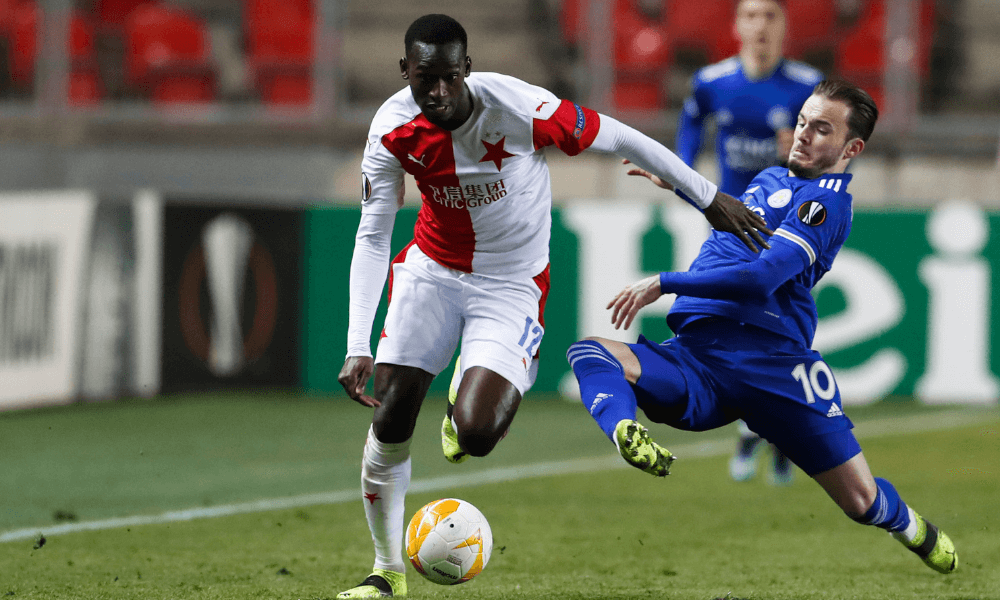 Slavia Praha - Leicester, Európska liga