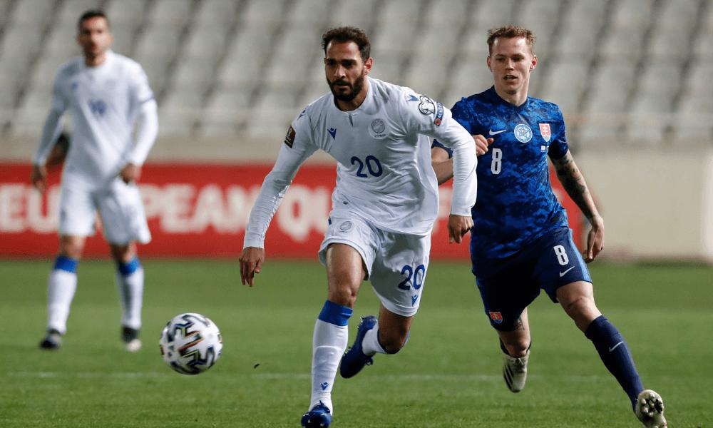 Cyprus - Slovensko, kvalifikácia na MS 2022