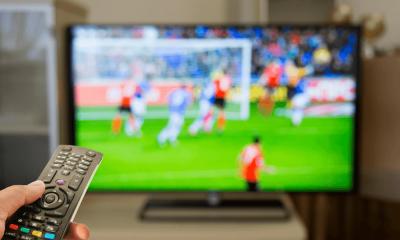 Sledovanie futbalu v televízii