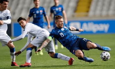 Kucka v zápase Cyprus - Slovensko