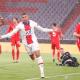 Mbappe v zápase Ligy majstrov Bayern - PSG