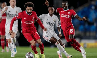 Salah - Liga majstrov Real Madrid - Liverpool