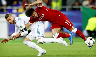 Súboj Ramos vs. Salah