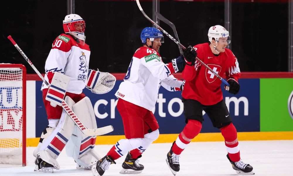 Česko - Švajčiarsko, MS 2021 v hokeji