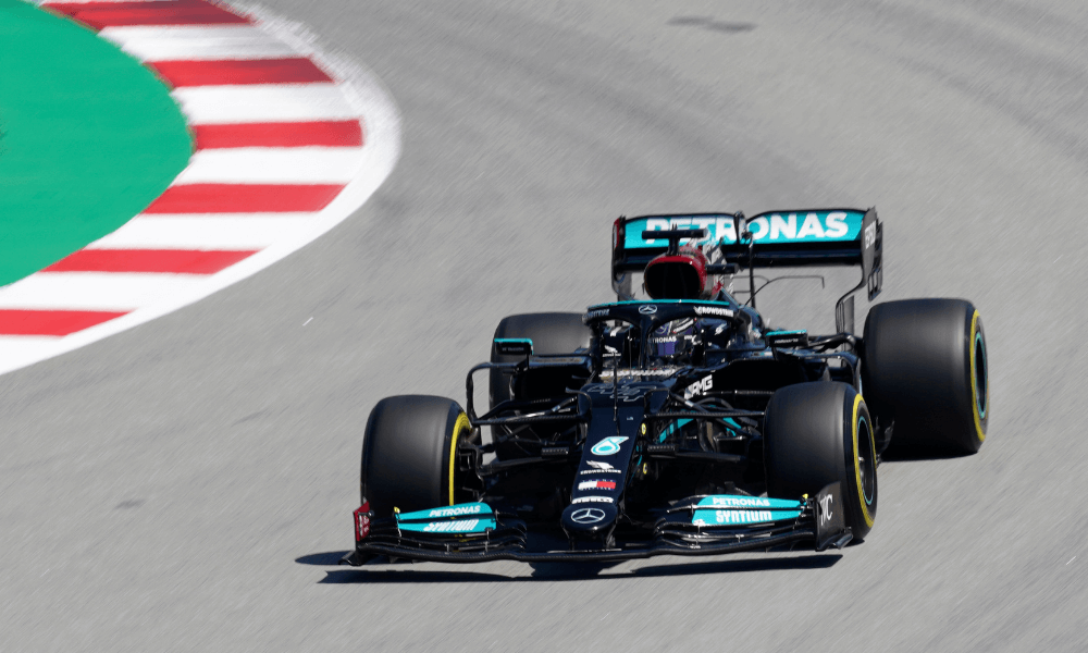 Hamilton - F1 Španielsko
