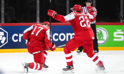 Švédsko - Dánsko, MS 2021 v hokeji
