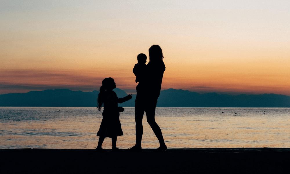 Matka a deti