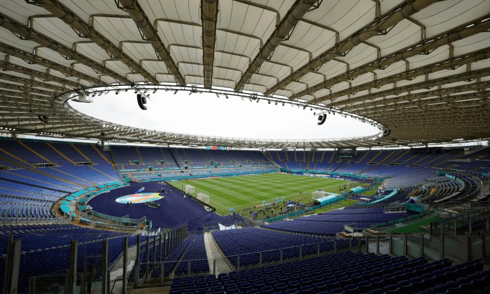 Štadión v Ríme na EURO 2020