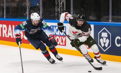 USA - Kanada, MS 2021 v hokeji