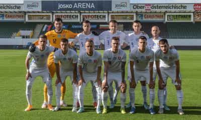 Zostava v zápase Slovensko - Bulharsko