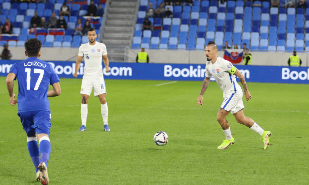 Kvalifikácia na MS 2022: Slovensko - Cyprus, Marek Hamšík