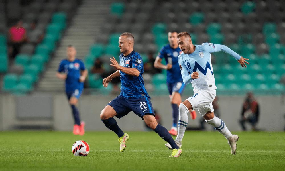 Kvalifikácia na MS 2022: Slovinsko - Slovensko